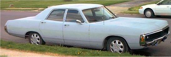 Dodge Polara Door