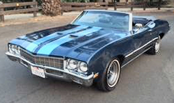 Photo of 1972 Buick Skylark Custom Convertible