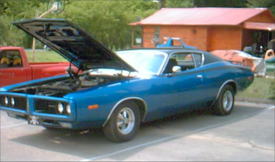 1972 dodge charger r/t clone