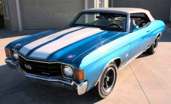 Photo of 1972 Chevrolet Chevelle SS Convertible With Numbers Matching 454