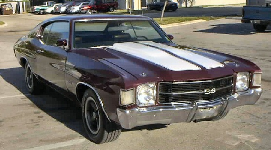1972 CHEVELLE SS PHOTO