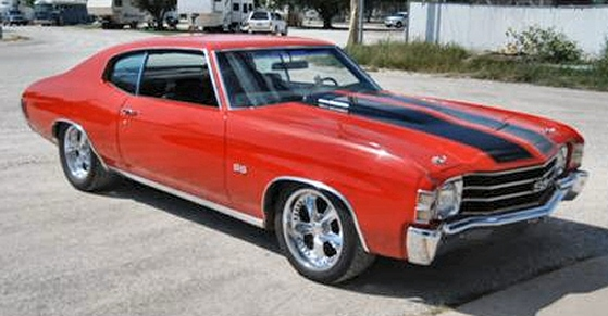 1972 Chevrolet Chevelle SS Sport Coupe tribute