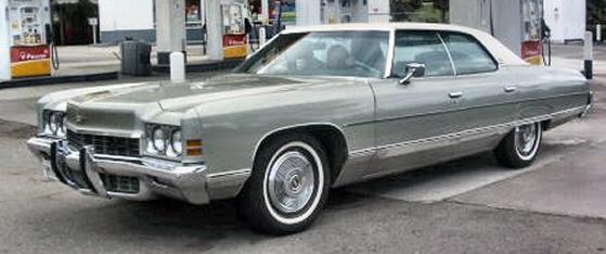 1972 Chevy Caprice 4 Door Hard Top