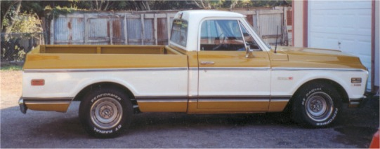 1972 Chevy Cheyenne Short Bed Pickup Truck