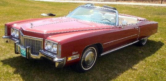1972 Cadillac Fleetwood Eldorado Convertible