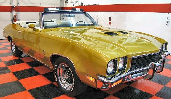1972 Buick GS 455 Convetible