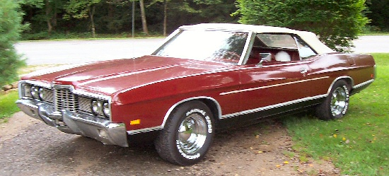 1972 Ford LTD Convertable