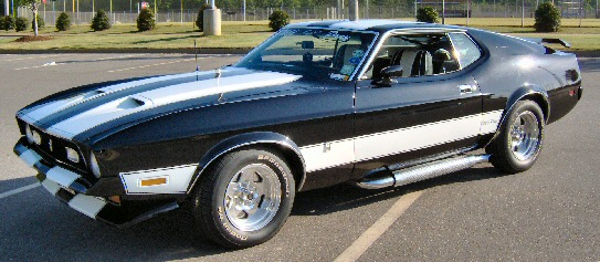 1972 Ford Mustang T 5 Mach 1
