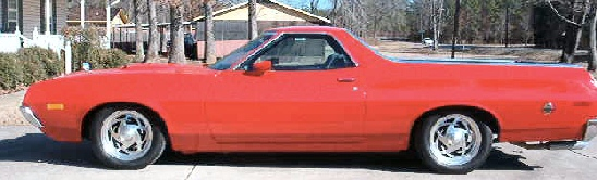 1972 FORD RANCHERO GT Torino style