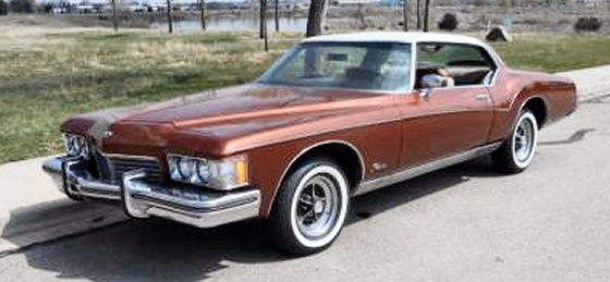 Photo of 1973 BUICK RIVIERA WITH 33K MILES