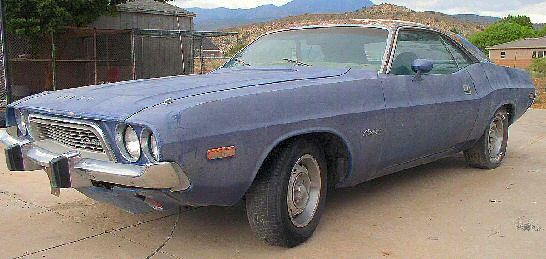 1973 Challenger Coupe