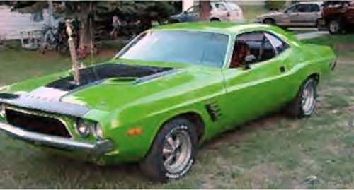 1973 Plymouth  Challenger 2DR HT