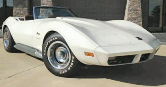 Photo of 1973 Chevrolet Corvette Stingray Convertible With LS4 454