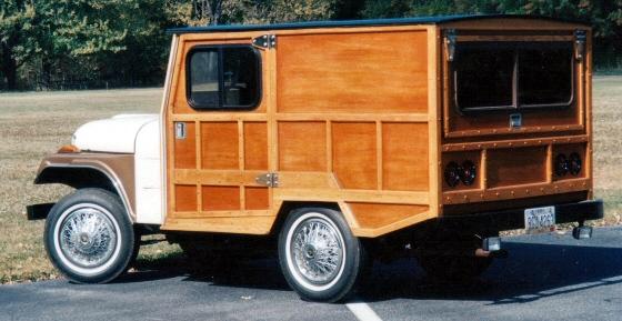 1973 CJ3 Jeep Custom Built Woody