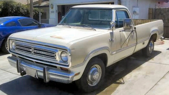 Photo of 1973 Dodge Camper Special Pickup Truck