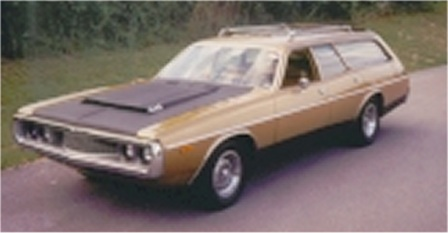 1973 Dodge Coronet 9 passenger station wagon