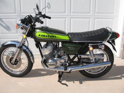 1973 Kawasaki 500 H1 Motorcycle