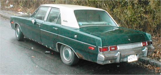 1974 dodge dart 4 door