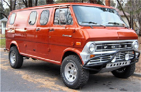 1974 Ford E200 Custom Camper Van