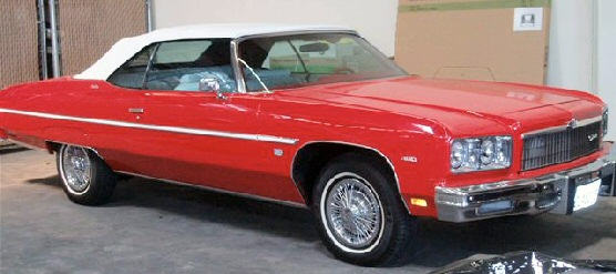 1975 Chevy Caprice Classic Convertible for Sale