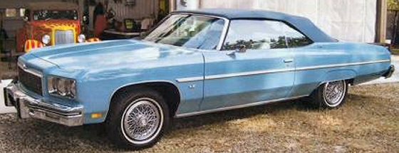 Photo of 1975 CHEVY CAPRICE CLASSIC CONVERTIBLE