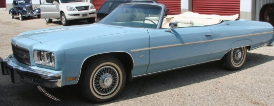 Photo of 1975 Chevy Caprice Convertible With 34,000 Original Miles