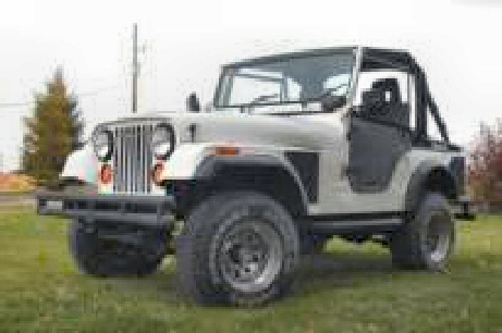 1975 Jeep CJ-5 - Completely rebuilt. Super Top soft top,