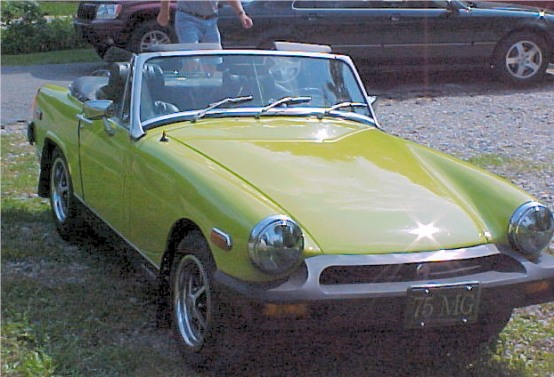 1975 mg midget exhaust
