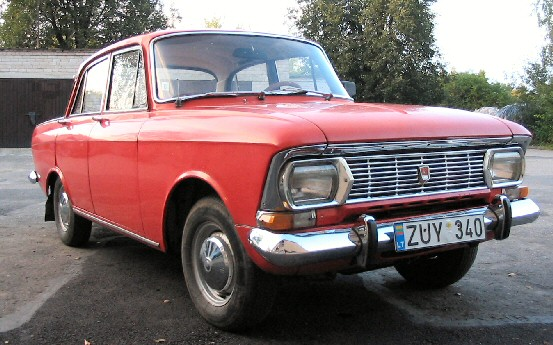1975 Moskvich 408