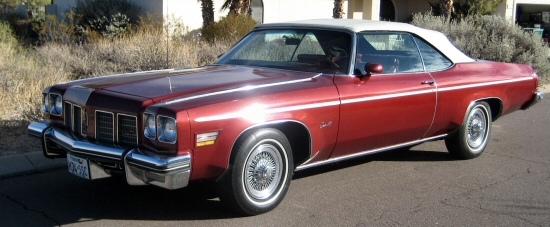Photo of 1975 Oldsmobile Delta 88 Convertible