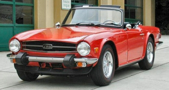 Photo of 1975 Triumph TR6 Roadster
