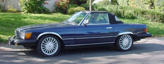 1976 mercedes 450sl for Mercedes benz 0305 for sale
