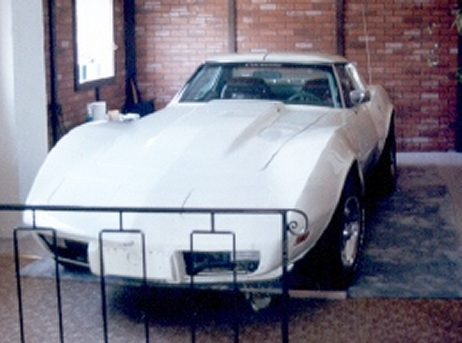 Corvette Stingray  on 1976 Corvette Stingray L82   Classic Whiteps  Pb  Pw  Tilt