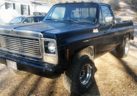 Photo of 1977 Chevrolet Fleetside  Short Wheel Base  4x4 Pickup Truck