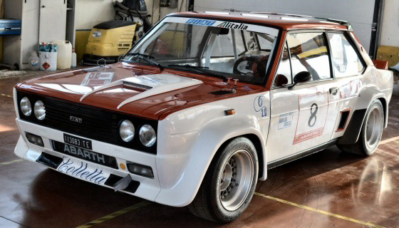Photo of 1977 FIAT 131 Abarth Group 4 Race Car