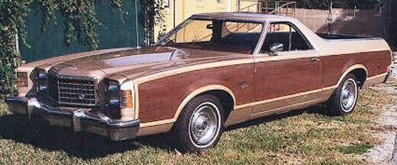 Photo of 1977 FORD RANCHERO SQUIRE
