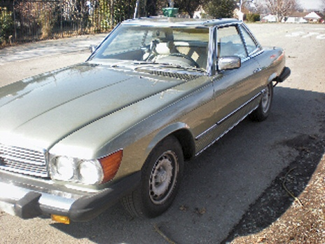 Photo of 1977 Mercedes Benz 450 SLC