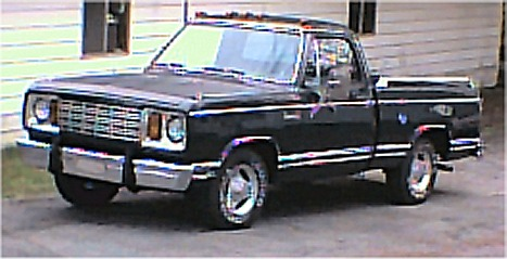 1978 Dodge Adventurer SE short bed pickup