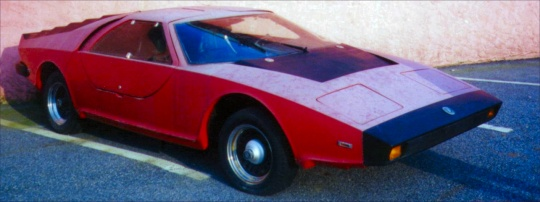 1978 Aztec 7 kit car by Fiberfab