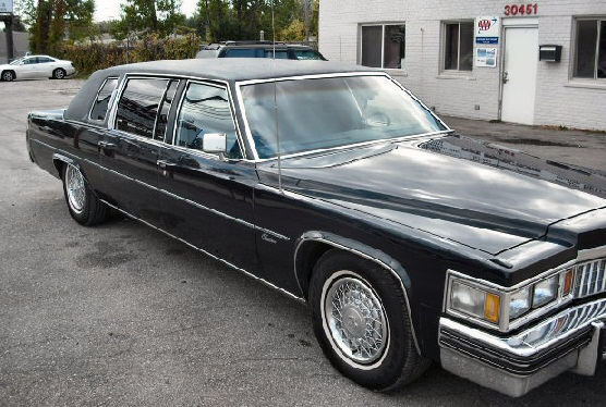 1978 Cadillac Fleetwood Factory Limo