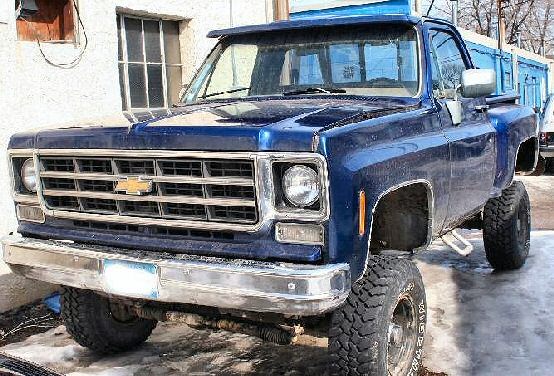 1978 Classic Step Side Chevy 4X4