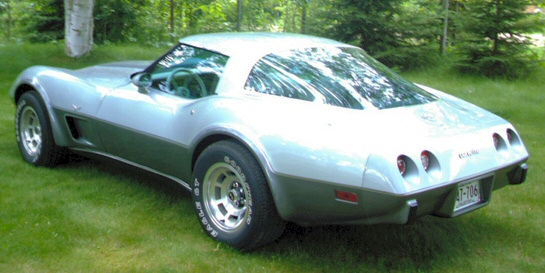 1978 Chevrolet Corvette 25th Silver Anniversary Edition