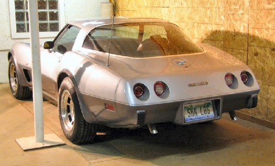 1978 75th Anniversary Corvette