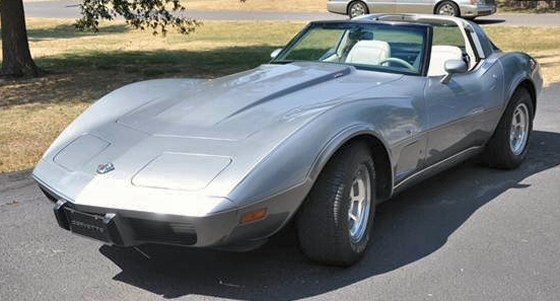 Photo of 1978 Chevrolet 25th Anniversary Corvette Coupe with T-Tops