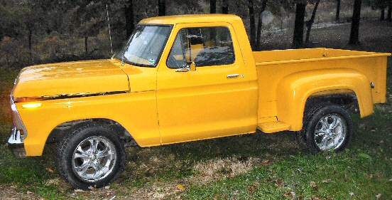 1978 Ford F100 Shortbed Stepside Pickup