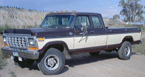 1978 Ford F-250 Lariat Supercab 4x4