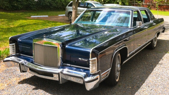 1978 lincoln continental towncar one owner car. Black Bedroom Furniture Sets. Home Design Ideas
