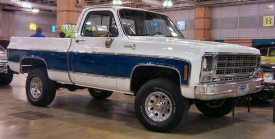 1979 chevrolet c10 4x4 pickup truck fully restored. Black Bedroom Furniture Sets. Home Design Ideas