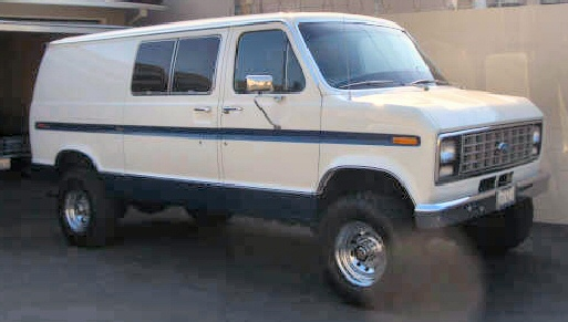 1979 Ford Factory Four-Wheel Drive Van