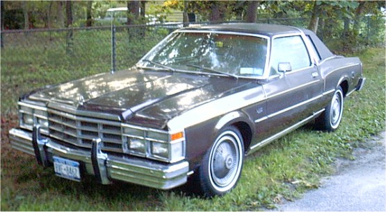 1979 Chrysler LeBaron Medallion
